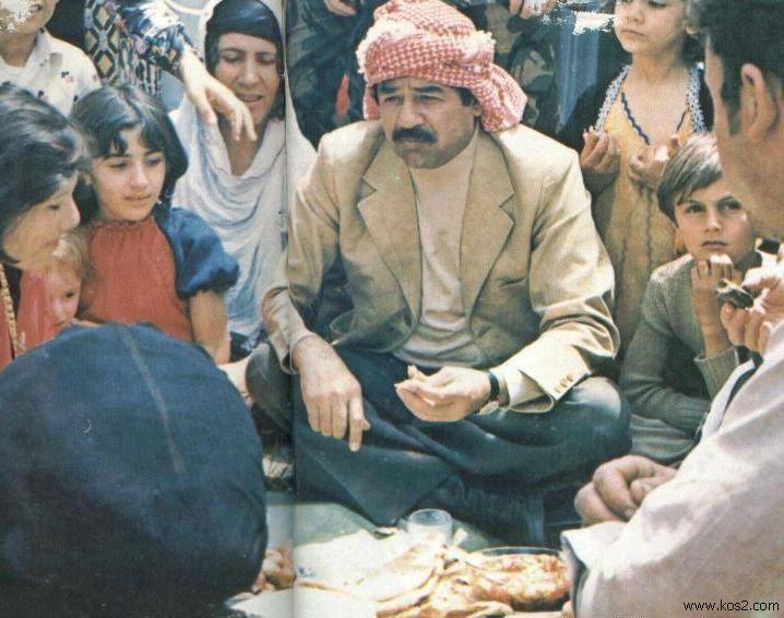 صدام والتواضع