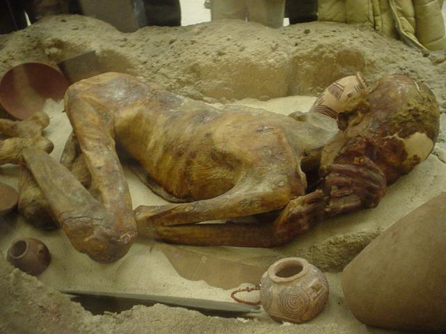 المومياء المصرية من أفضل الأمثلة على التحنيط
