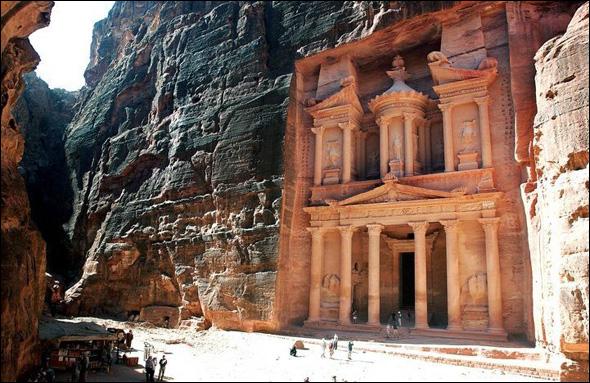 Petra (9 B.C. - 40 A.D.), Jordan