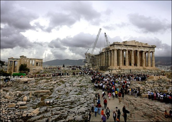 The Acropolis of Athens (450 - 330 B.C.) Athens, Greece