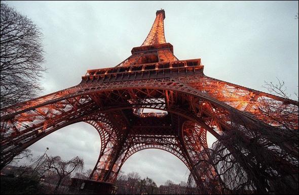 The Eiffel Tower (1887 - 89) Paris, France