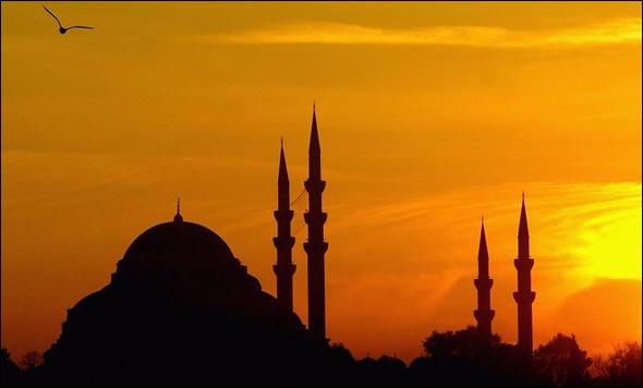 The Hagia Sophia (532 - 537 A.D.) Istanbul, Turkey