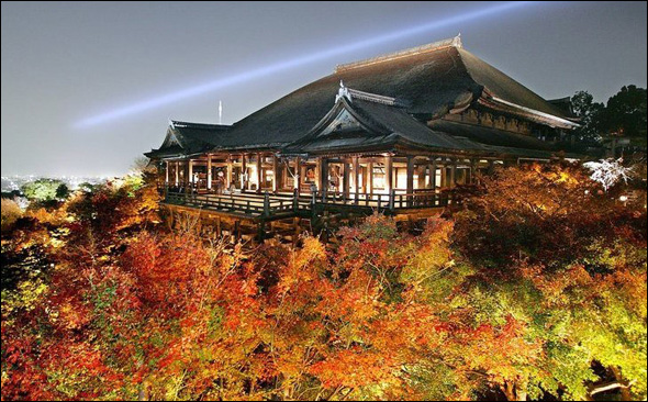 Kiyomizu Temple (749 - 1855) Kyoto, Japan