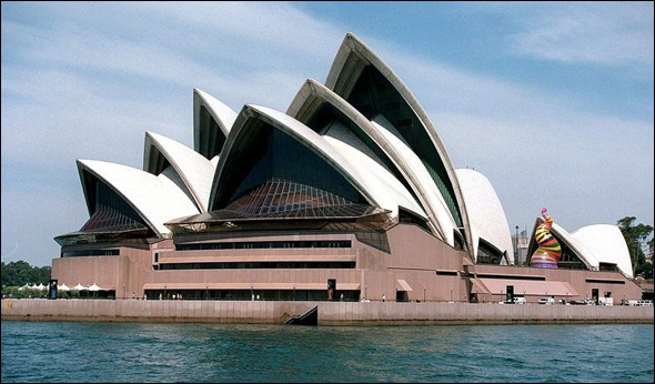Sydney Opera House (1954 - 73) Sydney, Australia