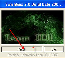طلب برنامج Swish Max 2