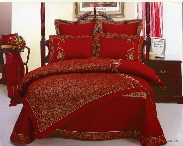 حمراء غرفة باللون الأحمر مفارش سرير باللون الاحمر 5296.png