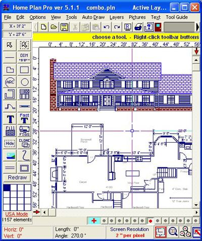 Home plan pro Software for house construction plan