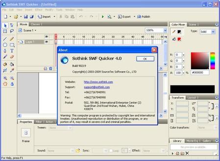 Sothink SWF Quicker برنامج لتعديل الفلاش + شرح بالصور + سريال 8252