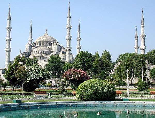 هنصلى فين النهاردة (مسجد السلطان أحمد ) بتركيا Image_1312549628_652