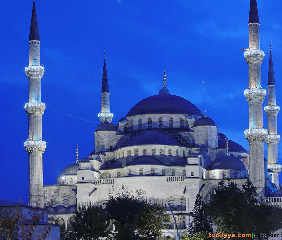 هنصلى فين النهاردة (مسجد السلطان أحمد ) بتركيا Image_1312549629_206