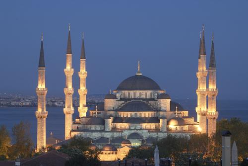 هنصلى فين النهاردة (مسجد السلطان أحمد ) بتركيا Image_1312549629_360