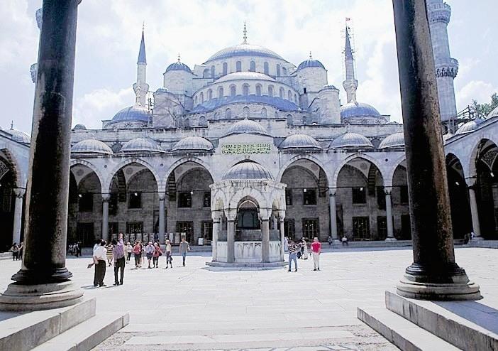هنصلى فين النهاردة (مسجد السلطان أحمد ) بتركيا Image_1312549629_894