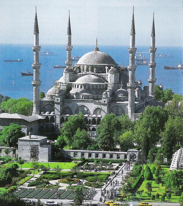 هنصلى فين النهاردة (مسجد السلطان أحمد ) بتركيا Image_1312549630_682