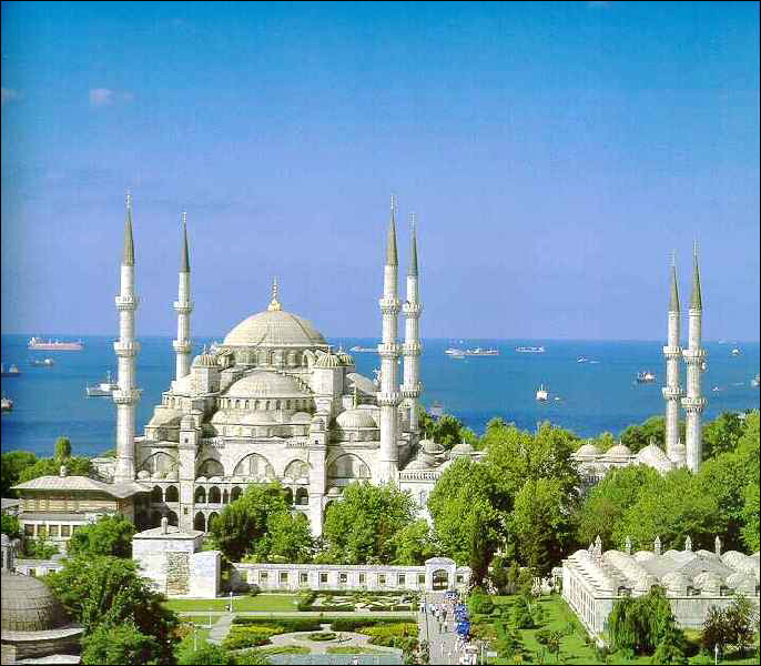 هنصلى فين النهاردة (مسجد السلطان أحمد ) بتركيا Image_1312549632_286