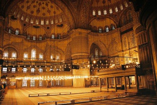 هنصلى فين النهاردة (مسجد السلطان أحمد ) بتركيا Image_1312549634_726