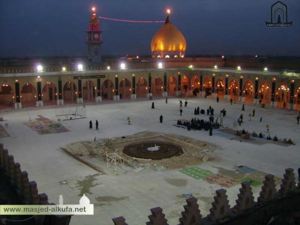هنصلى فين النهاردة (مسجد الكوفة ) العراق Image_1314196862_956