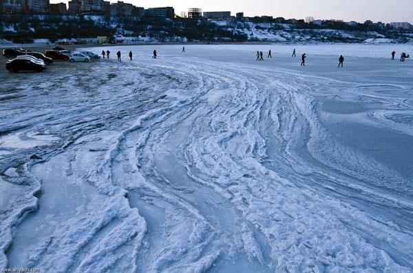 البحر الاسود يتجمد لاول مرة منذ 30 سنة Image_1342277924_845