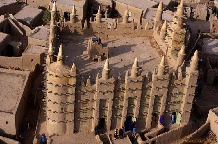 Moschee in Mali