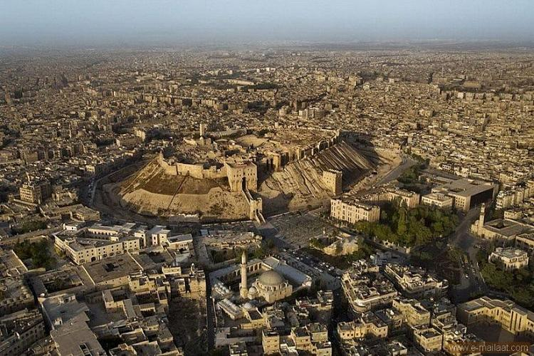 Burg von Aleppo , Syrien